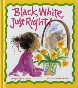 Black, White, Just Right book cover