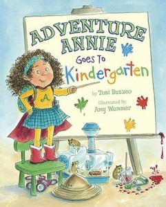 cover for Adventure Annie Goes to Kindergarten