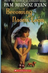 cover for Becoming Naomi Leon
