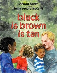 cover for Black is Brown is Tan