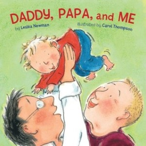 Cover for Daddy, Papa, and Me