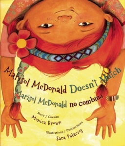 cover for Marisol Mcdonald Doesn't Match