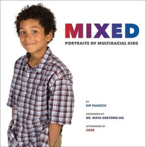cover for Mixed Portraits of Multiracial Kids