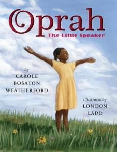 cover for Oprah the Little Speaker
