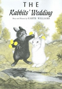 cover for The Rabbits' Wedding