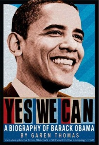 cover Yes We Can biography of barack obama