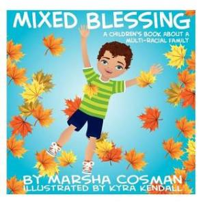 Mixed Blessing--a children's book cover