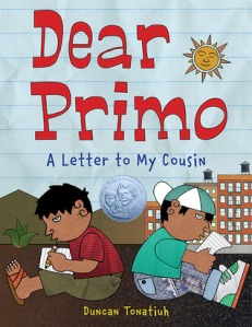 cover for Dear Primo- A Letter to My Cousin