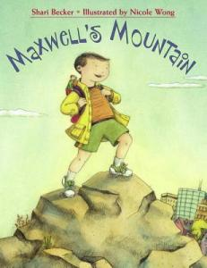 cover for Maxwell's Mountain by Shari Becker