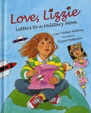 cover for Love, Lizzie Letters to a military mom